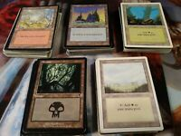 *** 200 VINTAGE Basic Land Lot - 40 of each - Magic the Gathering MTG FTG ***