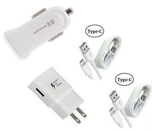 Adaptive Fast Wall, Car, USB-C, Motorola Moto G6/G6 Plus/G8/G8 Play/G8+/G8 Power