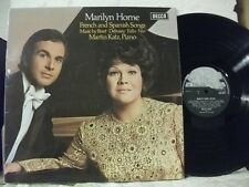 SXL 6577 MARILYN HORNE French and Spanish Songs MARTIN KATZ Piano DECCA STEREO