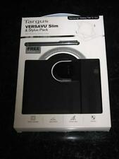 TARGUS VERSAVU SLIM ROTATING CASE Samsung Galaxy Tab 3  10.1 BONUS PACK - NEW