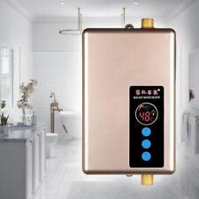 Calentador de agua caliente sin tanque eléctrico 5500W / 220V 3000W / 110V Panta