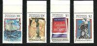 Album Treasures Trinidad & Tobago Scott # 423-426 Emancipation MNH