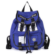 Doctor Who Tardis Buckle Slouch Bag Purse Police Box Dr Who Backpack Rucksack #1