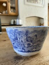 Ironstone Blue And white Abbey Bowl Planter