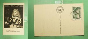 DR WHO 1937 FRANCE PARIS LOUVRE MUSEUM ART POSTCARD g02664