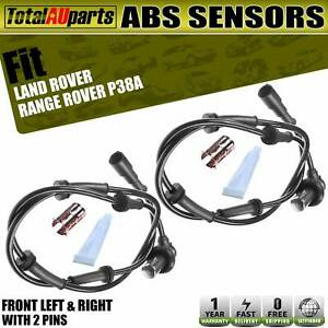 Front Left & Right Wheel ABS Speed Sensors for Land Rover Range Rover P38A 94-02