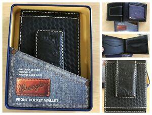 New Wrangler mens front pocket wallet