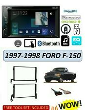 1997-1998 FORD F-150 PICKUP STEREO KIT, BLUETOOTH TOUCHSCREEN GPS