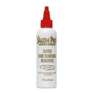 SALON PRO EXCLUSIVES SUPER HAIR BONDING GLUE REMOVER LOTION (2 oz or 4 oz)