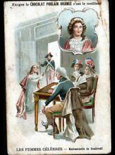 IMAGE CHROMO POULAIN / FEMME CELEBRE née à LIMOGES / Mademoiselle DE SOMBREUIL