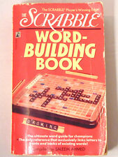 Scrabble Word Building Book by Saleem Ahmed Vocabulary Games English Reference