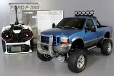 Tamiya 1/10 Ford F350 High Lift +MFC-02 light sound unit +Sanwa 2.4GHZ +Spekrum