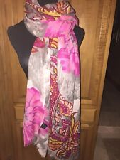 Women's PASSIGATTI Floral Embellished Multi Color Scarf