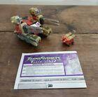 Hasbro 2002 Transformers Armada Demolisher & Blackout 100% Complete