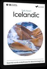 Eurotalk Talk Now Islandais pour débutants - Téléchargement option et CD ROM