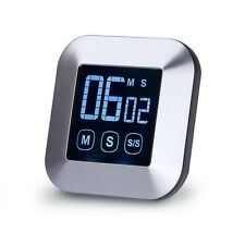 Minimalism Digital Kitchen Touchscreen Cooking Timer Loud Alarm LCD Timer AU