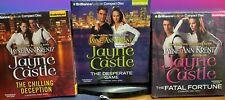 Lot of 3 new audiobooks Jayne Ann Krentz Jayne Castle Guinevere Jones Unabridged