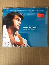 Elvis Presley - Suspicious Minds - Shaped CD Single - Brand New!