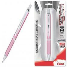 Pentel PINK BCA EnerGel Alloy RT Liquid Gel Pen 0.7mm Pink Barrel Black Ink