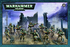 Astra Militarum Cadian Shock Troops Infantry Squad Warhammer 40k NEW