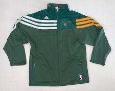Boys Adidas Utah Jazz Jacket Size Large (14/16) Green NBA Basketball