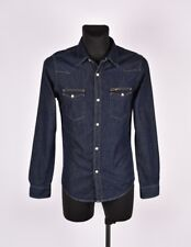 Lee Occidental Hommes Chemise en Jeans TAILLE S