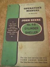 John Deere no 4B Cylinder Sheller Corn Operators Manual Original