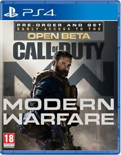 Call of Duty Modern Warfare (PS4)  PRE-ORDER - RELEASED 25/10/2019 - BRAND NEW