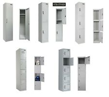 1, 2, 3, 4, 5 Door Metal Locker Office Gym School Storage Cupboard cabinet shelf
