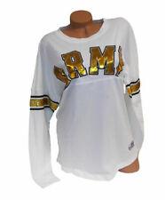 Victoria's Secret PINK US Army White/Yellow Shirt