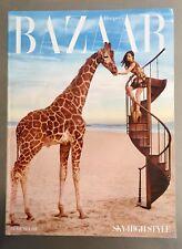 HARPERS BAZAAR Magazine - Sky High Style - April 2010 - DEMI MOORE