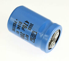 1x 470uF 200V Large Can Electrolytic Aluminum Capacitor DC 200VDC 85C 470mfd