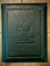 """Leather Bound Journal Book - Branded """"Chipco Technology Solutions"""""""