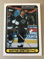 1990-91 TOPPS WAYNE GRETZKY CARD #120 NR-MINT   Los Angeles Kings
