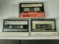 3 Previously Recorded Cassette Tapes 70/80s ROCK Sold as Blank Led Zeppelin