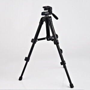Outdoor Portable Aluminum Tripod Stand Flexible For Camera Camcorder OdhnuuDMB