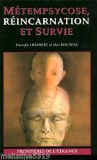 Livre Esotérisme  métempsycose réincarnation et survie    book