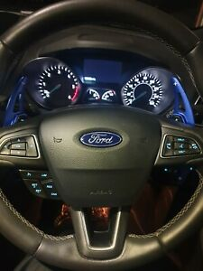 Blue Shift Paddles for Steering..Fit for Ford Focus Ecosport Ford Kuga 2016/2019