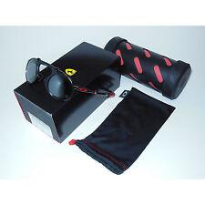 New* Oakley Madman Sunglasses Ferrari Dark Carbon/Black Iridium Polarized round