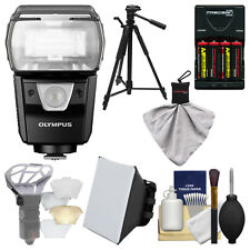 Olympus FL-900R Wireless Electronic Flash + Kit for OM-D/PEN Micro 4/3 Cameras