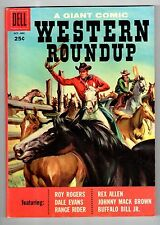 Dell GIANT WESTERN ROUNDUP #20 Oct Dec 1957 vintage comic NM condition