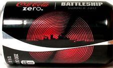 "MT UNOPEN Can USA Coke Coca-Cola Zero Summer 2012 ""Battleship"" Limited Edition"