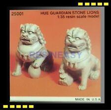 Free Shipping Kirin 25001 1/35 Hue Guardian Stone Lions resin Model Kit OOP