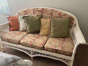 antique 1930 wicker furniture