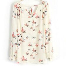 Camisas y tops de mujer de chifón