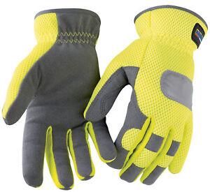 Blaklader Hi Vis Mesh Work Glove - 2242
