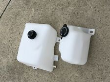 New Monte Carlo SS El Camino Coolant and Washer Fluid Jug Tank Set with Lids