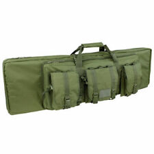 """CONDOR 42 """"Double Tactical Military Koffer MOLLE Gepolsterte Jagdtasche Olive"""