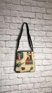 Frida Kahlo Crossbody Bag Womens New Made in USA