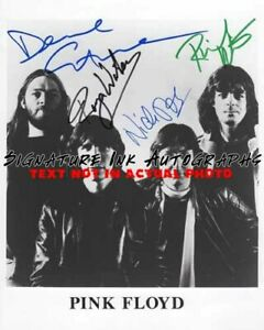Pink Floyd Signed 8x10 Autographed Photo reprint